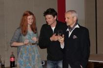 mit Regisseur Stefa Bric 2012